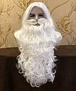 Профессиональная Борода Деда Мороза🎅🏼 из 100% Канекалона и Парик, фото 2