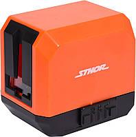 Нивелир лазерный самовыравнивающийся STHOR дальность- 30 м, точность- ±2 мм /10 м