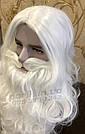 Профессиональная Борода Деда Мороза🎅🏼 из 100% Канекалона и Парик, фото 10