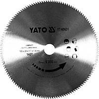 Диск пильный по ламинированных плитах и ламинату YATO 180 x 20 x 1.7 x 1.4 мм 140 зубцов R.P.M до 9000 1/мин