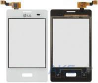 Сенсор (тачскрин) для LG Optimus L3 E400 Original White