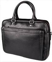 Черная мужская сумка портфель DAVID JONES, фото 1