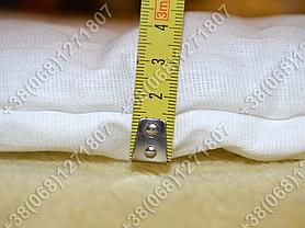 Детская подушка для новорожденных 40х60 белая, фото 2