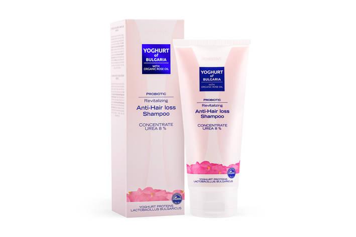 Відновлюючий шампунь проти випадіння волосся з пробіотиком Yoghurt of Bulgaria від BioFresh 200 мл, фото 2