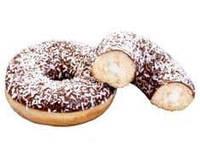 Пончик «DONUT» з кокосовою начинкою (упакований) (36 ШТ)