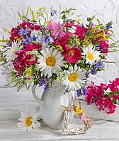 """Картина по номерам """"Яркие цветы"""" 40*50 см (в короб LC40039"""