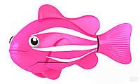 Интерактивная игрушка Robo Fish розовая
