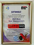 SATO Амортизатор NISSAN LEAF Electric 11.10- FR газ, фото 2