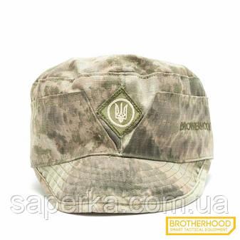 Военная кепка (Тризуб)  Brotherhood, цвет A-tacs AU, фото 2