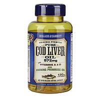 Биологически активная добавка для иммунитета Holland & Barrett Cod Liver Oil 572 mg, 60 шт.