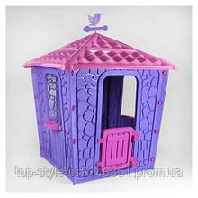Детский игровой домик для девочки Pilsan Stone (06-437) сиреневый