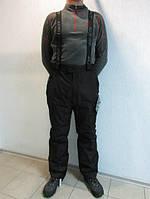 Горнолыжные мужские штаны Azimuth 2307 черные  код 103 Б
