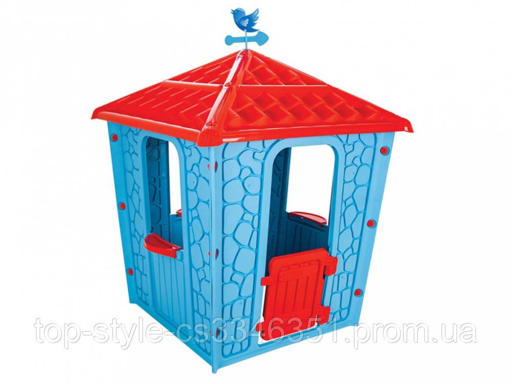Игровой детский домик Pilsan Stone (06-437) голубой