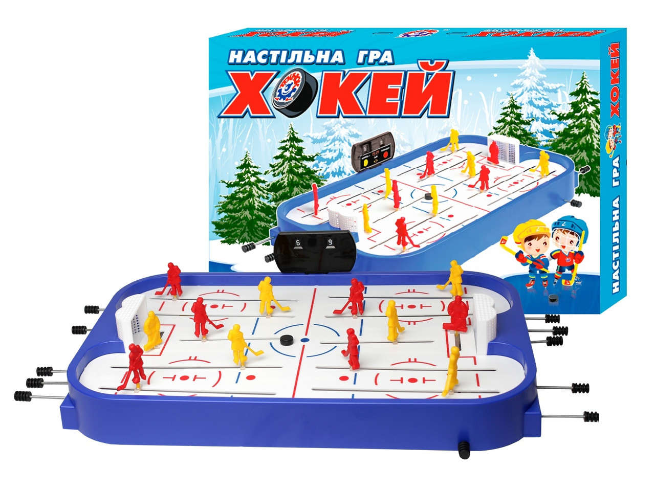"""Настільна гра """"Хокей ТехноК"""" арт. 0014"""