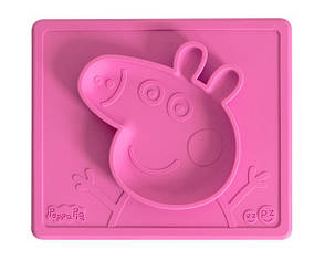 Тарелка-коврик розовый, фото 2