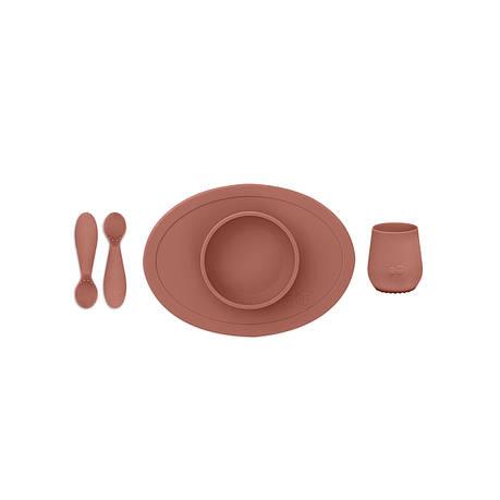 Первый набор посуды терракотовый (4 ед. в наборе), фото 2