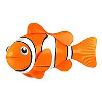 Аквариумная робот рыбка оранжевая