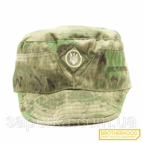 Военная кепка (Тризуб)  Brotherhood, цвет A-tacs FG