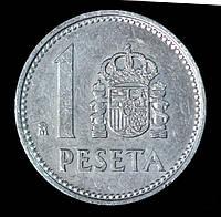 Монета Испании 1 песета 1982 г., фото 1