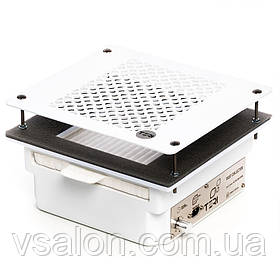 Встраиваемая в стол маникюрная вытяжка с HEPA фильтром Teri 600 (сетка белая)