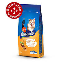 Brekkies Dog with Lamb 20 кг - корм для собак з ягням