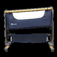 Кроватка детская туристическая 3в1 Lionelo TIMON BLUE NAVY + матрас FIKI MIKI