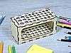 Карандашница з фанери на підставці (2241), фото 2