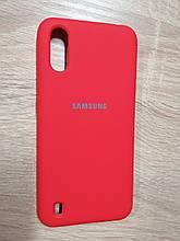 Чехол Samsung A01/M01 Original Full Case Red