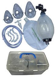 """TW8111 Аппарат искусственной вентиляции легких с ручным приводом """"МЕДИКА"""" многократный комплект """"Взрослый"""""""
