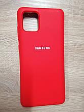 Чехол Samsung Note 10 Lite Original Full Case Red