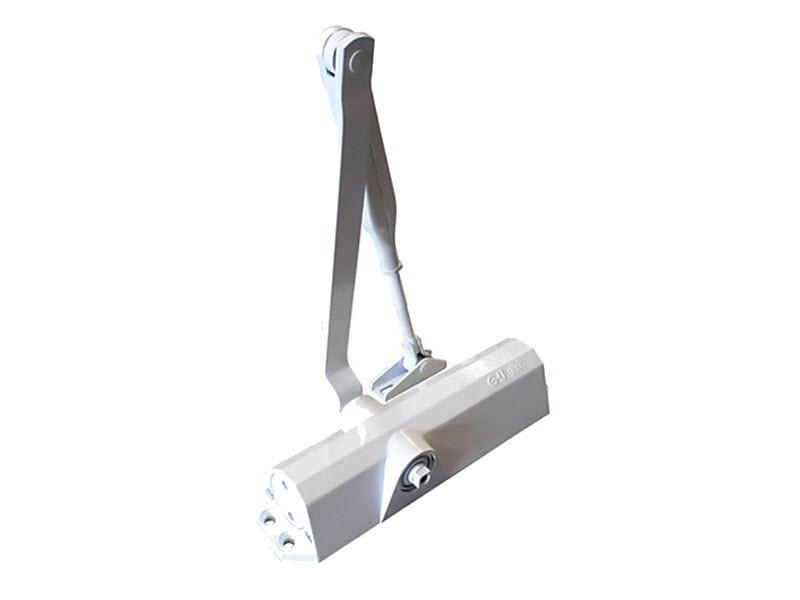 Б/У Дверной доводчик GU BKS OTS 140 стандартная тяга (белый) до 80 кг. Доводчик для дверей GU BKS OTS 140