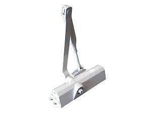 Б/У Дверной доводчик GU BKS OTS 140 стандартная тяга (белый) до 80 кг. Доводчик для дверей GU BKS OTS 140, фото 2