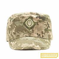 Кепка военная  (Тризуб)  Brotherhood, цвет Украинская цифра