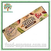 Шоколад без глютена Torras Organic Bio Cobertura 70% какао 250г