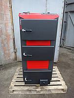 Котел твердотопливный WarmHaus Premium 25 кВт (250 кв.м)