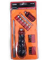 Набор инструментов 18в1 CXN-609 ручная отвертка с битами и насадками