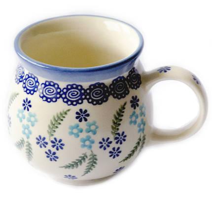 Чашка керамическая «Т» 0,25L Forget-me-not, фото 2