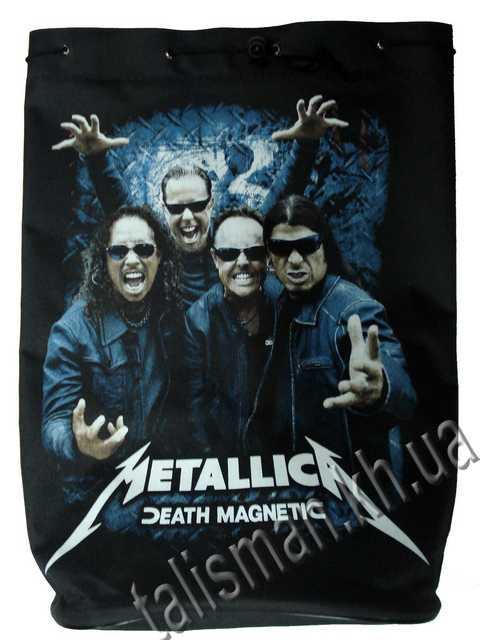 METALLICA - Death Magnetic (с группой) - рок-рюкзак