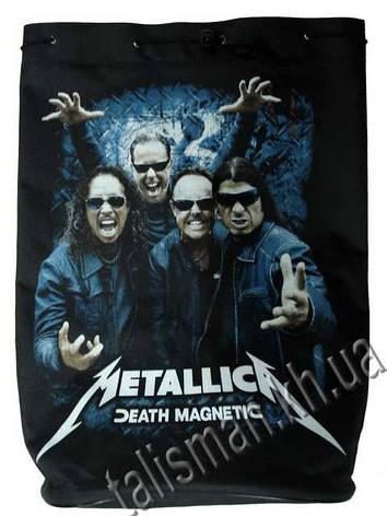 METALLICA - Death Magnetic (с группой) - рок-рюкзак, фото 2