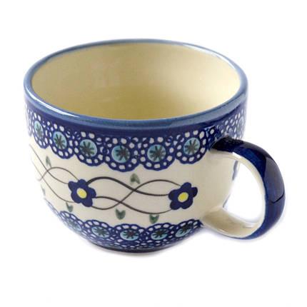 Чашка керамическая Джамбо 0,32L Барвинок, фото 2