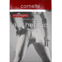 Cornette Кальсони чоловічі чорні Authentic Thermo plus Cornette (L)