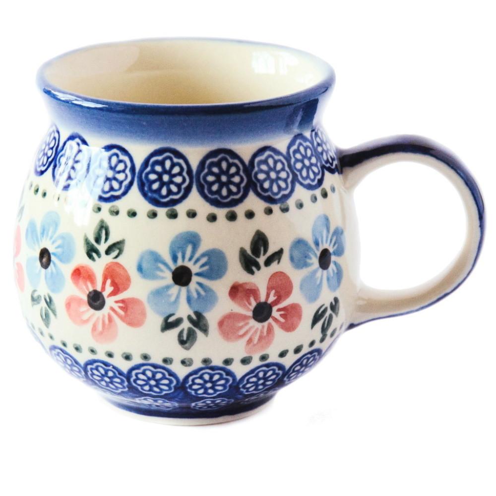 Чашка керамическая «Т» 0,25L Bloom