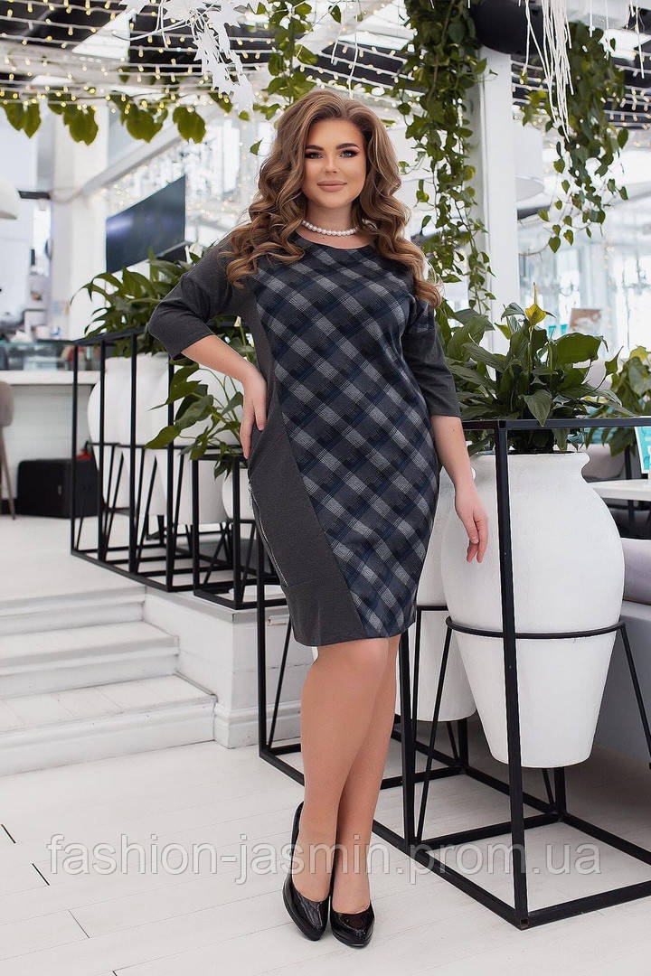 Женское платье Александра  №2033 от50 до 56 размера
