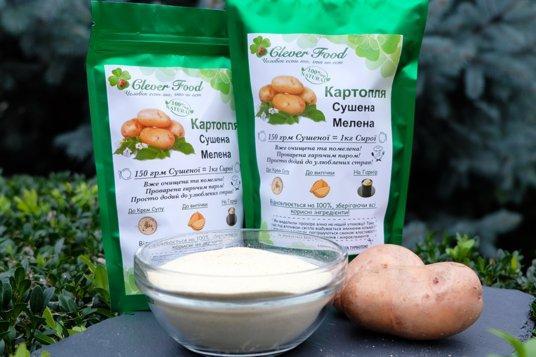 Натуральный картофельный порошок 500 гр