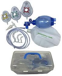 """TW8321G Аппарат искусственной вентиляции легких с ручным приводом """"МЕДИКА"""" ПВХ комплект """"Педиатрический"""""""