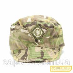 Кепка военная  (Тризуб)  Brotherhood, цвет Multicam