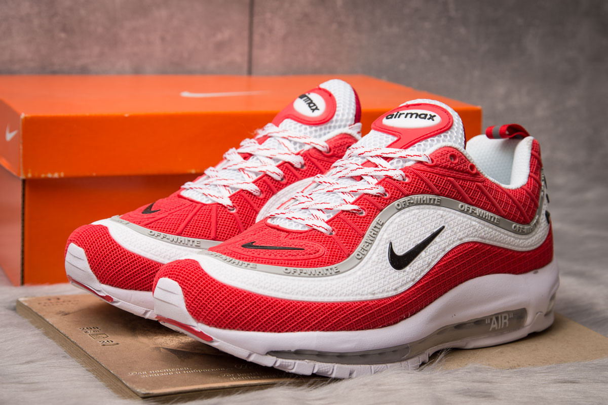 Кроссовки мужские 15262, Nike Air Max, белые, [ 43 44 ] р. 43-27,5см.