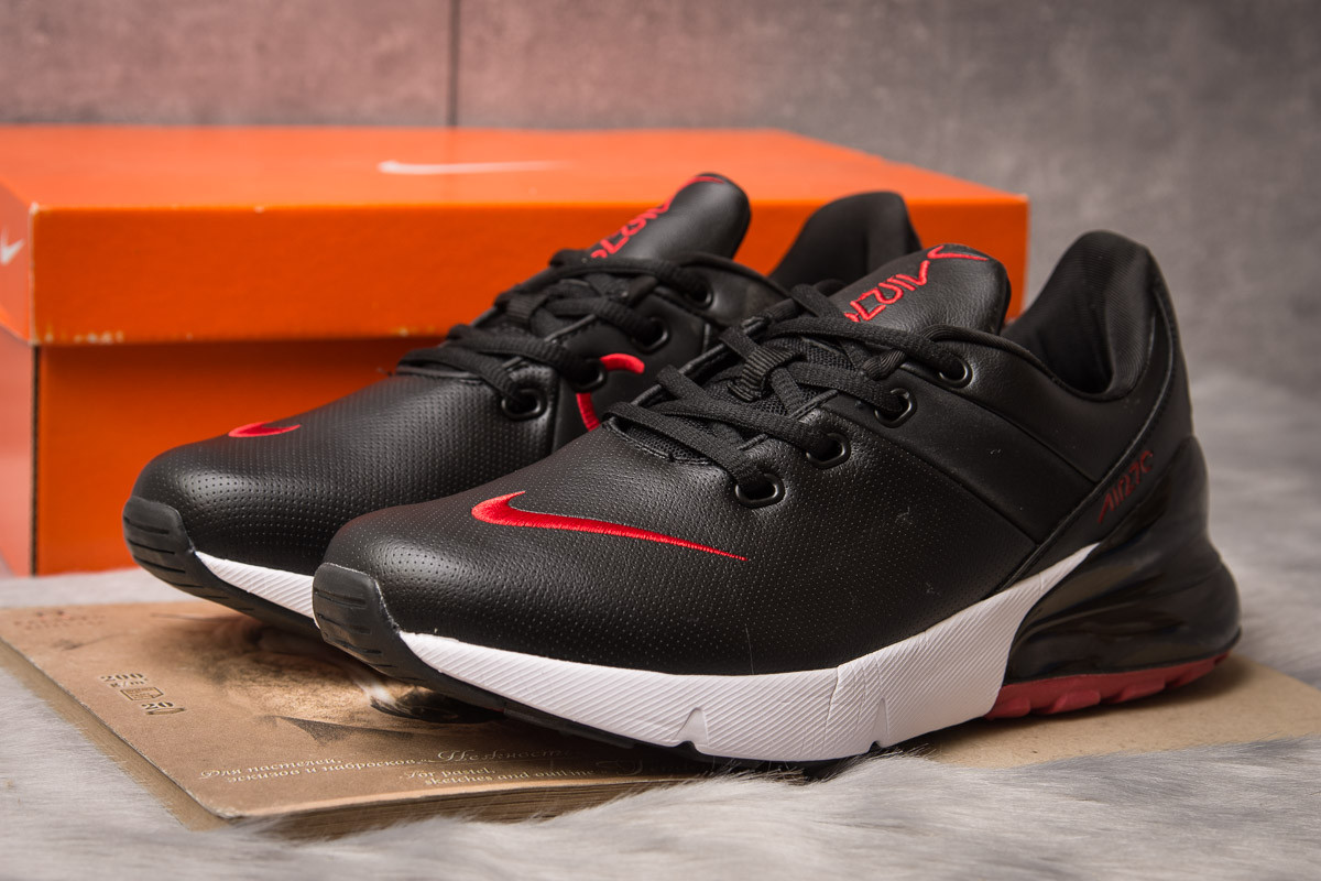 Кроссовки мужские 15281, Nike Air 270, черные, [ 42 43 ] р. 42-27,0см.