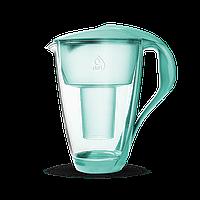 Фильтр-кувшин Dafi Crystal Classic  2.0 LED Мятный стекло со светодиодным индикатором замены картриджа