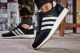 Кроссовки мужские 15741, Adidas Iniki, темно-синие, [ 45 46 ] р. 45-29,0см., фото 4